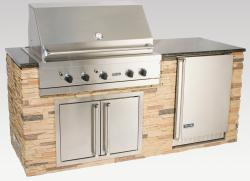 Brand: Viking, Model: OMI08401VKKL, Style: Keystone with Giallo Granite Top