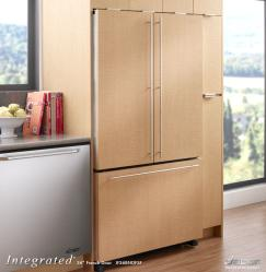 Brand: Dacor, Model: IF36BNNFSF, Style: 19.8 cu. ft. Counter-Depth French Door Refrigerator