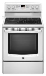 Brand: MAYTAG, Model: MER8772WS, Color: White