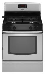 Brand: Maytag, Model: MGR7775WW, Color: Stainless Steel