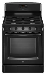 Brand: MAYTAG, Model: MGR8670WB, Color: Black