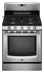 Brand: Maytag, Model: MGR8670WQ, Color: Stainless Steel