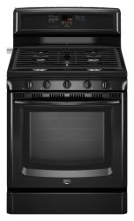 Brand: MAYTAG, Model: MGR8772WB, Color: Black