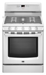 Brand: MAYTAG, Model: MGR8772WB, Color: White
