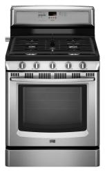 Brand: Maytag, Model: MGR8772WW, Color: Stainless Steel