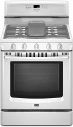 Brand: MAYTAG, Model: MGR8875WS, Color: White