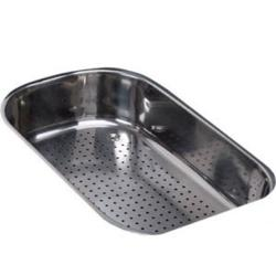 Brand: FRANKE, Model: OA60S, Style: Polished Steel Colander