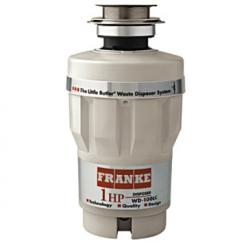Brand: FRANKE, Model: WD100LC, Style: 1 HP Continuous Feed Waste Disposer