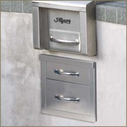 Brand: Alfresco, Model: AGDR2, Style: 2 Drawer System