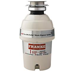 Brand: FRANKE, Model: WD1001, Style: 1 HP Continuous Feed Waste Disposer