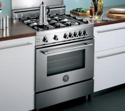 Brand: Bertazzoni, Model: X304GGVNELP, Fuel Type: Stainless Steel, Natural Gas