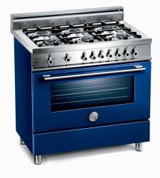 Brand: Bertazzoni, Model: X365GGVBL, Fuel Type: Blue, Natural Gas