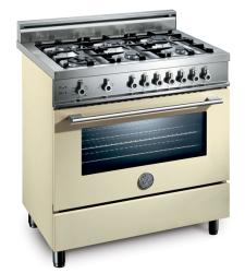 Brand: Bertazzoni, Model: X365GGVBL, Fuel Type: Cream, Natural Gas