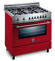 Brand: Bertazzoni, Model: X365GGVBL, Fuel Type: Red, Natural Gas