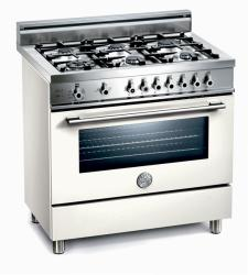Brand: Bertazzoni, Model: X365GGVBL, Fuel Type: Pure White, Natural Gas