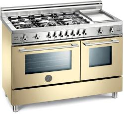 Brand: Bertazzoni, Model: X486GGGVBILP, Fuel Type: Cream, Natural Gas