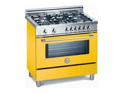 Brand: Bertazzoni, Model: X365PIRVE, Color: Yellow