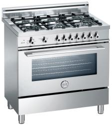 Brand: Bertazzoni, Model: X366PIRBL, Fuel Type: Stainless Steel, Natural Gas