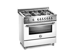 Brand: Bertazzoni, Model: X366PIRVILP, Fuel Type: Pure White, Natural Gas