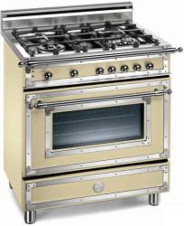 Brand: Bertazzoni, Model: H304GGVCRLP, Fuel Type: Matte Cream, Natural Gas