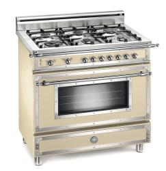 Brand: Bertazzoni, Model: H366GGVCR, Fuel Type: Matte Cream, Natural Gas
