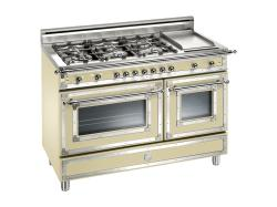 Brand: Bertazzoni, Model: H486GGGVNE, Fuel Type: Matte Cream, Natural Gas