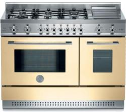 Brand: Bertazzoni, Model: X486GPIRROLP, Color: Cream, Natural Gas