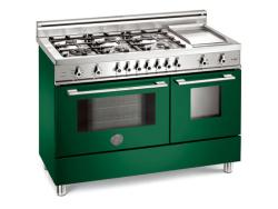 Brand: Bertazzoni, Model: X486GPIRVELP, Color: Green, Natural Gas