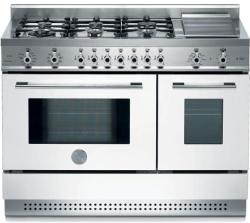 Brand: Bertazzoni, Model: X486GPIRROLP, Color: White, Natural Gas