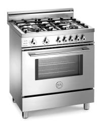 Brand: Bertazzoni, Model: X304PIRVI, Color: Stainless Steel, Natural Gas