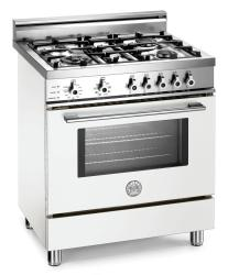 Brand: Bertazzoni, Model: X304PIRVI, Color: Pure White, Natural Gas