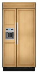 Brand: KitchenAid, Model: KSSS36QTX, Color: Overlay/Brushed Aluminum Trim/Panel Required