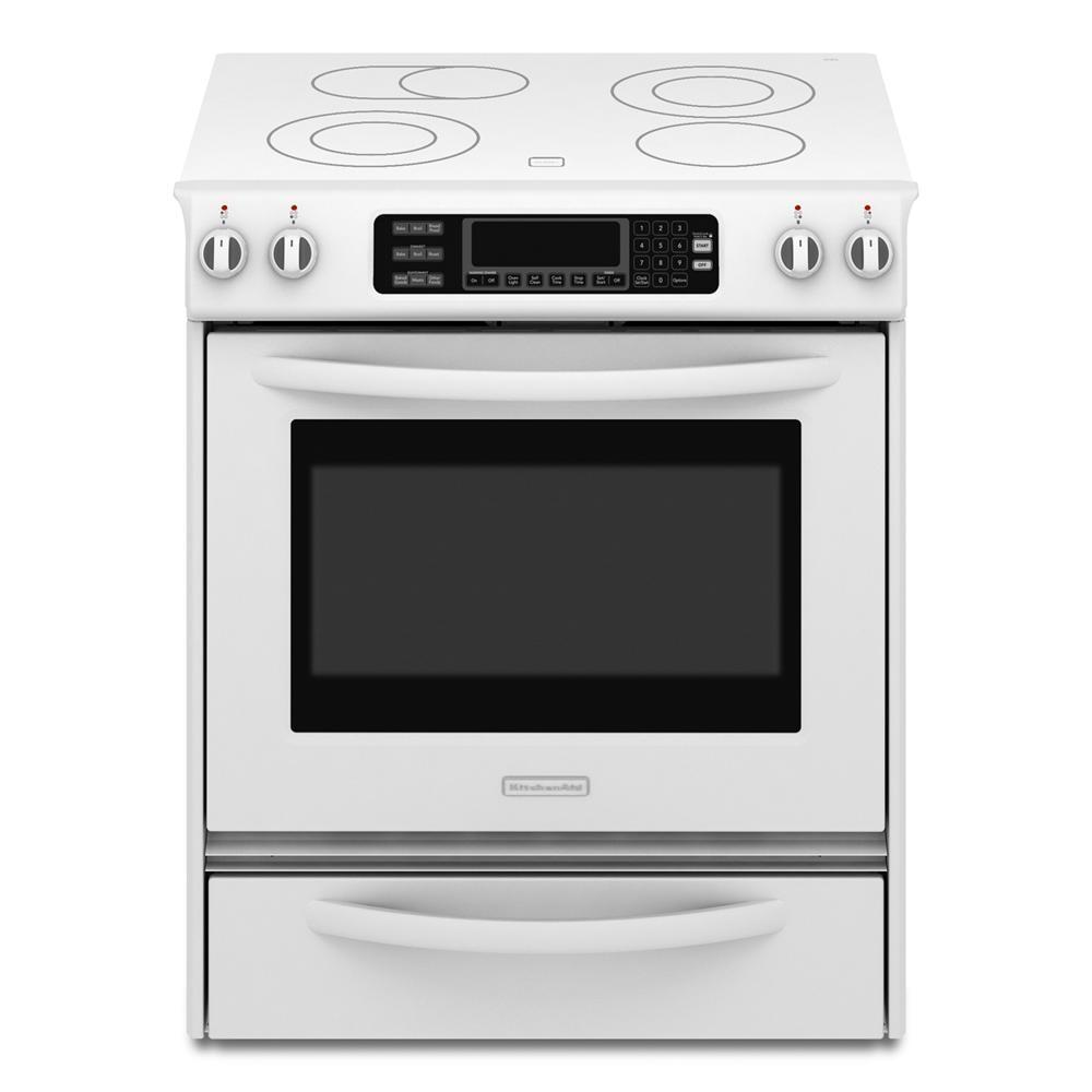 Kitchenaid Kess907sss 30 Quot Slide In Electric Range With 4
