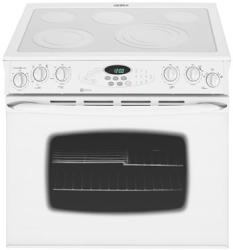 Brand: MAYTAG, Model: MEP5775BAF, Color: Frost White