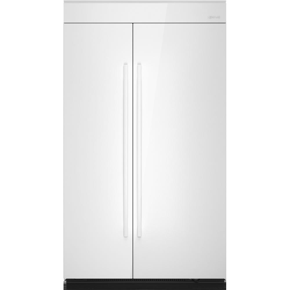 Jpk48snxwss jenn air jpk48snxwss side by side for Jenn air floating glass refrigerator