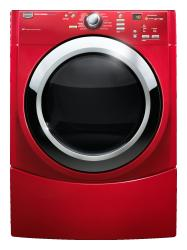 Brand: MAYTAG, Model: MEDE500WR, Color: Crimson Red