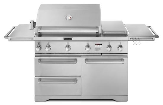 Kitchenaid Kfru368vss 36 Quot Freestanding Gas Grill With 623