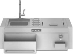 Brand: KitchenAid, Model: KBFU271VSS, Color: Stainless Steel