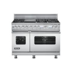 Brand: Viking, Model: VDSC548T6GTP, Fuel Type: Stainless Steel, Natural Gas