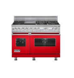 Brand: Viking, Model: VDSC548T6QGM, Color: Racing Red