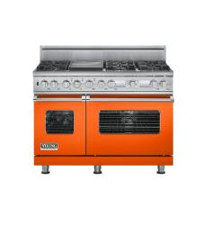 Brand: Viking, Model: VDSC548T6QMS, Color: Pumpkin