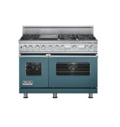 Brand: Viking, Model: VDSC548T6QMS, Color: Iridescent Blue