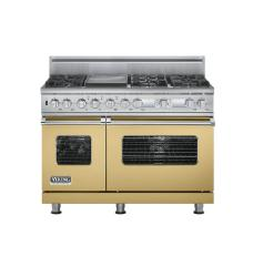 Brand: Viking, Model: VDSC548T6QMS, Color: Golden Mist