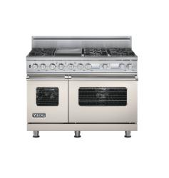 Brand: Viking, Model: VDSC548T6QMS, Color: Oyster Gray