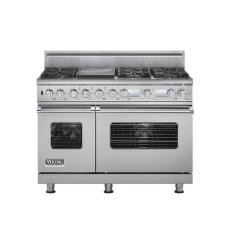 Brand: Viking, Model: VDSC548T6QMS, Color: Metallic Silver