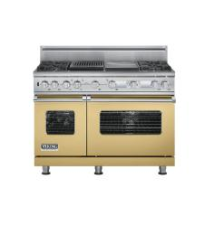Brand: Viking, Model: VDSC548T4GQBK, Color: Golden Mist