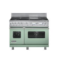 Brand: Viking, Model: VDSC548T4GQBK, Color: Sage