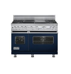 Brand: Viking, Model: VDSC548T4GQBK, Color: Viking Blue