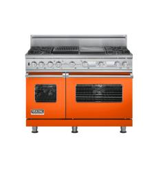Brand: Viking, Model: VDSC548T4GQBK, Color: Pumpkin