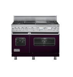 Brand: Viking, Model: VDSC548T4GQBK, Color: Plum